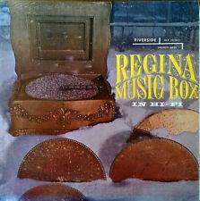 THE REGINA MUSIC BOX IN HIGH FIDELITY - RIVERSIDE LP - MONO LP