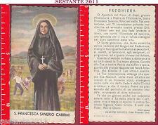 3305 SANTINO HOLY CARD S. SANTA FRANCESCA SAVERIO CABRINI