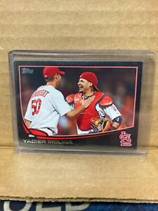 T95 2013 Topps #4 Yadier Molina /62 St Louis Cardinals