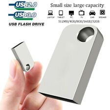 USB 3.0 2.0 Mini Metal 32GB 16GB Flash Drives Memory Pen Drive U Disk For PC&Car