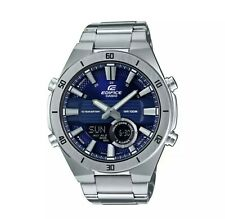 Casio Edifice Men's Silver Stainless Steel Bracelet WatchERA-110D-2AVEF Original