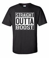 Straight Outta Boost Shirt Street Outlaws Race JDM EVO Turbo Drag Racing