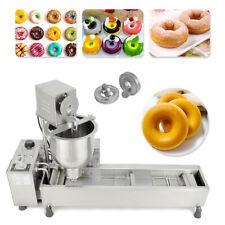 More details for commercial automatic donut maker 220v donut making machine 3 molds size fryer
