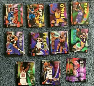 97-98 Skybox Z-Force Series 1 FullSet #1-110 Kobe Jordan Shaq Iverson Basketball