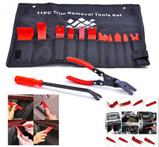 13 Pcs Upholstery Tools Trim Removal Set with Clip Pliers and Fastener Removers