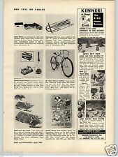 1963 PAPER AD Bob-O-Links Snow Sled Ross Deluxe Hot Rod Bicycle Champion F-47