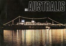 1967 Australis Deluxe Brochure Avec / Plans & Intérieurs - Nautiques Navires