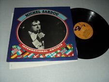 MICHEL SARDOU 33 TOURS LP BELGIUM INTERNATIONAL ARTISTS LES RICAINS