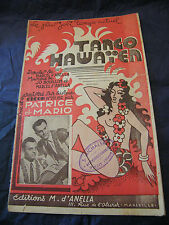 Partition Tango Hawaien Patrice et Mario Music Sheet