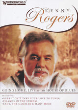 KENNY ROGERS Going Home, Live At The House Of Blues DVD BRAND NEW NTSC ALL