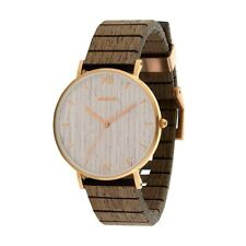 Orologio in legno WeWood - AURORA Rose Gold Apricot Wood Watch