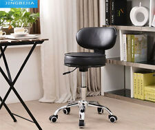 PRO Salon Stool Hairdressing Styling Chair Barber Massage Tattoo Beauty Black