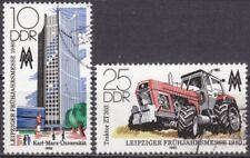 DDR Mi.-Nr. 2498-2499 gestempelt Leipziger Frühjahrsmesse 1980