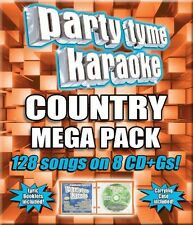 Various Artists, Syb - Party Tyme Karaoke: Country Mega Pack / Various [New CD]