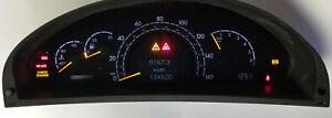 Mercedes Benz W220 Instrument Cluster REPAIR SERVICE S500 S430 S55 S350