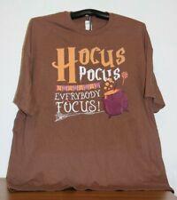 Hocus Pocus Everbody Focus! T-Shirt  4XL in Brown