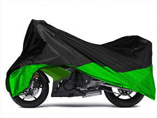 Green L Motorcycle Cover Fit Kawasaki EX Ninja 250 650 R ZX 6R 636 7R 9R 10R