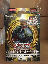 Yu-Gi-Oh!  Order Of Chaos Special Edition Pack SE Edition CCG TCG