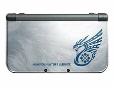 Nintendo New 3DS XL Monster Hunter 4 Ultimate Bundle Silber Handheld-Spielkonsole (PAL)
