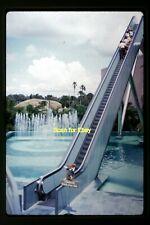 Tall Escalator in Florida in 1961, Original Kodachrome Photo Slide aa 4-10b