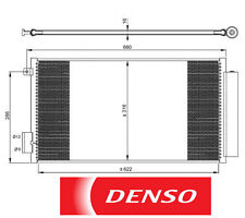 Original Denso Klimaanlage/Klimaanlage Kondensator für FIAT 500L