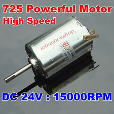 DC 24V 15000RPM High Speed Power Large Torque Mini 725 Motor DIY Electric Drill