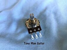 Bourns Short Shaft 500K Guitar Pot Audio Taper Potentiometer Low Friction Qty 1