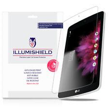 iLLumiShield Screen Protector w Anti-Bubble/Print 3x for LG G Pad F 7.0