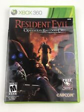 Resident Evil: Operation Raccoon City (Microsoft Xbox 360, 2012) Sealed