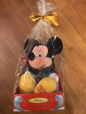 New Unopened 1999 Disney Store A Season To Remember Winter Mickey Mouse Plush