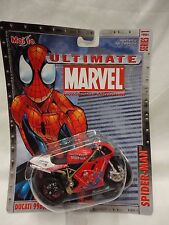Maisto Ultimate Marvel Motorcycle Collection - Spider-Man Ducati 996Sps M5