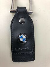 New BMW Key Chain Leather LOGO Hang Tag Bag Car Sleek!  BEAUTIFUL