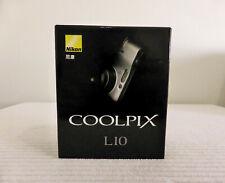 NIKON COOLPIX L10 5.0 MP 3x Optical Zoom Digital Camera Silver Picture Project 7