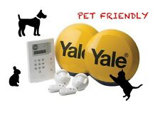 NEW YALE PET Friendly Premium HSA6400PET communicating alarm sys 2 Yr Warranty