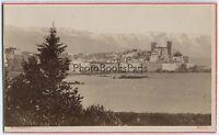 Antibes Francia CDV Foto David Nice Vintage Albumina Ca 1870
