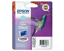Cartuccia Epson T0805 light ciano colibrì Originale