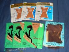 Vintage Garter Stockings 7 New Pair-Dream Girl & Beautiful Stockings Sz 10 1/2