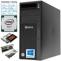 HP Z440 Gaming Workstation PC Intel Xeon E5-1607v3 3.1GHz 16GB ram 256GB SSD Bw