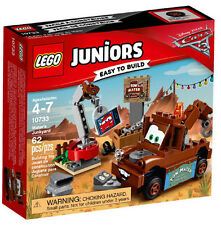 LEGO 10733 Cars 3 Mater's Junkyard Construction Forklane Heavy Cars Juniors Lego