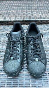 Adidas Originals Superstar II 2 Black Leather Men's Size 11 nice shoe rare