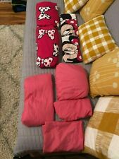 Minnie Mouse Pink Full Size Bedding Sheet Sets Pink