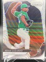 2020 Panini Prizm Baseball White Wave #104 Jesus Luzardo Oakland Athletics RC