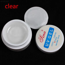 015B 3 Farben Nail art Primer UV Gel Nagellack Tipps Kit Frauen White/Clear/Pink