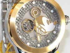Invicta Disney 50mm Limited Edition Automatic SSteel  Watch Three-Slot Dive Case