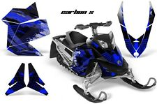 Snowmobile Graphics Kit Sled Decal Wrap For Ski Doo Rev XP Summit 08-12 CBNX BLU