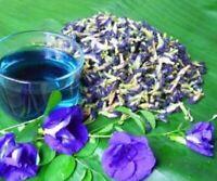 Organic thai dried butterfly pea clitoria ternatea  natural herbal blue flower