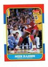 1986/87 fleer basketball #82 akeem olajuwon NM O/C