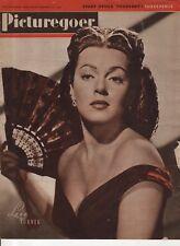 PICTUREGOER MAGAZINE (27 September 1947) LANA TURNER - CHARLES LAUGHTON - NEWTON