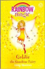 RAINBOW MAGIC 4 GOLDIE SUNSHINE FAIRY Daisy Meadows George Ripper New 016 1st pb