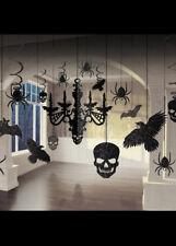 Halloween Gotico GLITTER Lampadario Decorazione KIT